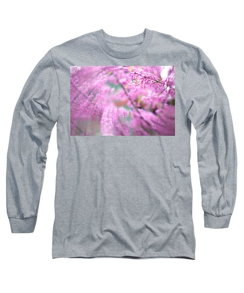 Swirls Of Spring Long Sleeve T-Shirt