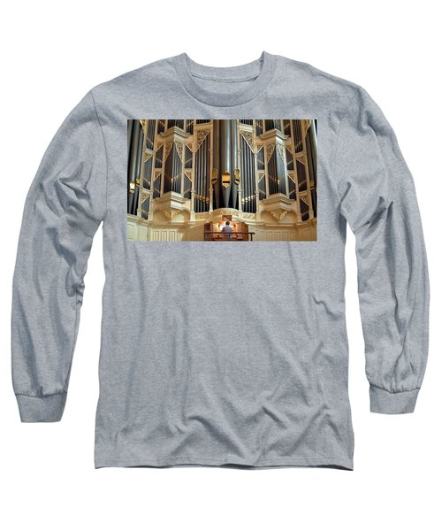 Sydney Town Hall Organ Long Sleeve T-Shirt