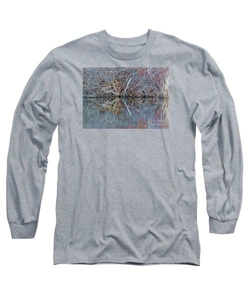 Symmetry Long Sleeve T-Shirt by Christian Mattison