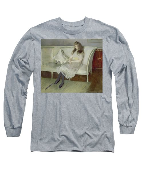 Symphony In White Long Sleeve T-Shirt