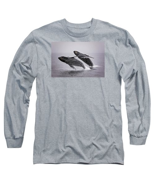 Synchronized Double Breach Long Sleeve T-Shirt
