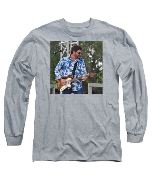 Tab Benoit And 1972 Fender Telecaster Long Sleeve T-Shirt
