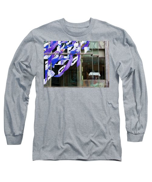 Long Sleeve T-Shirt featuring the photograph Table For Two by Chris Dutton