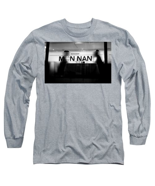Long Sleeve T-Shirt featuring the photograph Table For Two by Valentino Visentini