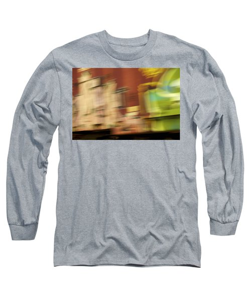 Long Sleeve T-Shirt featuring the photograph Tagged - Train Graffiti by Jane Eleanor Nicholas