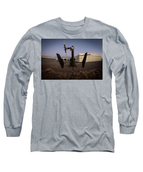 Long Sleeve T-Shirt featuring the photograph Tailblade by Paul Job