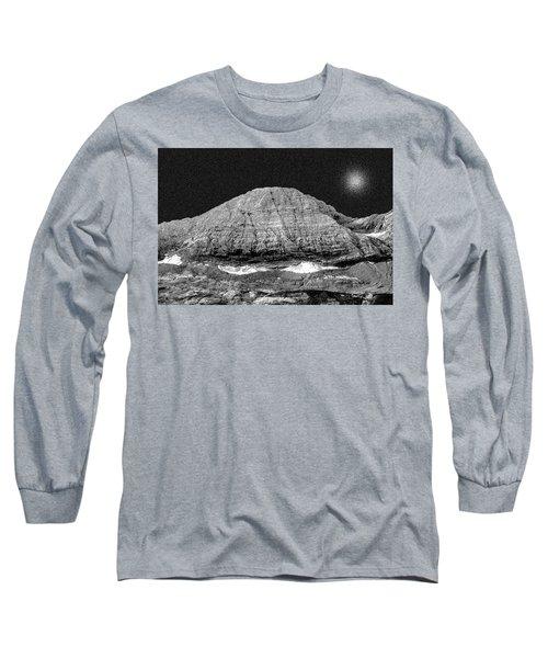 Taillon Spaceship   Vaisseau Taillon Long Sleeve T-Shirt