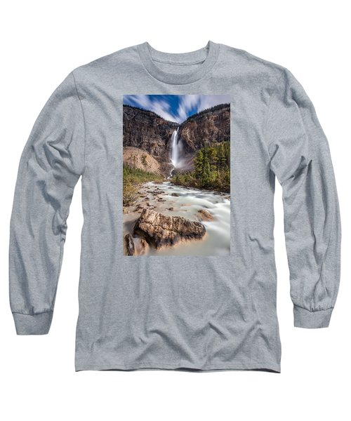 Takakkaw Falls   Long Sleeve T-Shirt