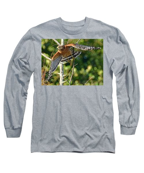 Long Sleeve T-Shirt featuring the photograph Take Off by Don Durfee