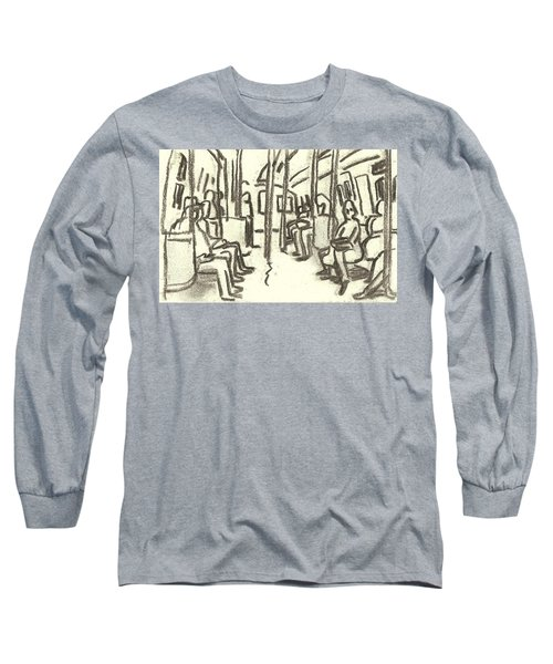 Take The A Train, Nyc Long Sleeve T-Shirt