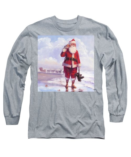 Long Sleeve T-Shirt featuring the painting Taking A Break by Steve Henderson