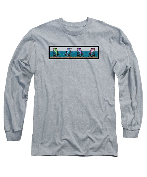 Taking A Dip Long Sleeve T-Shirt by Bruce Nutting