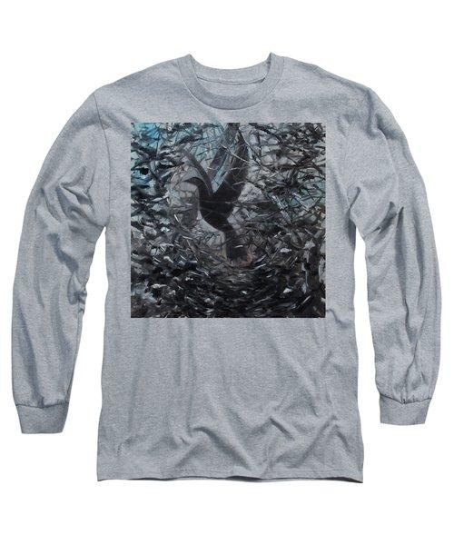 Taking Flight Long Sleeve T-Shirt by Tone Aanderaa