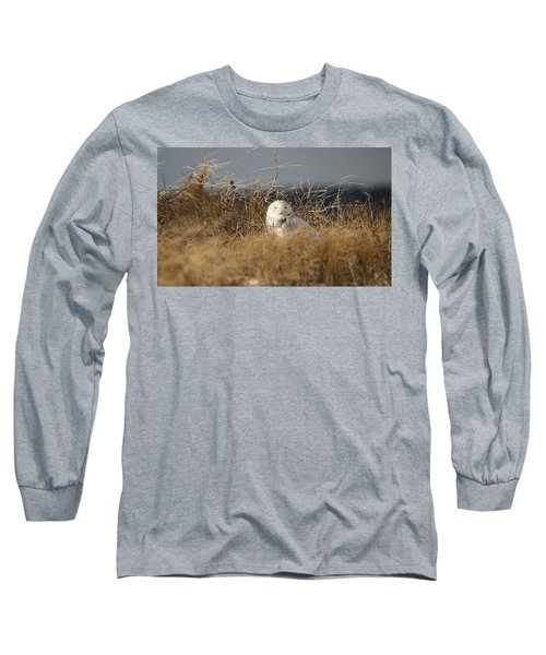 Taking In The Winter Sun Long Sleeve T-Shirt