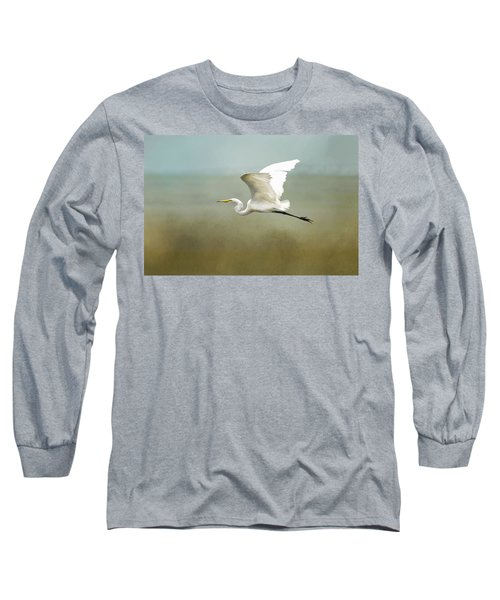 Taking Off  Long Sleeve T-Shirt by Betty Pauwels
