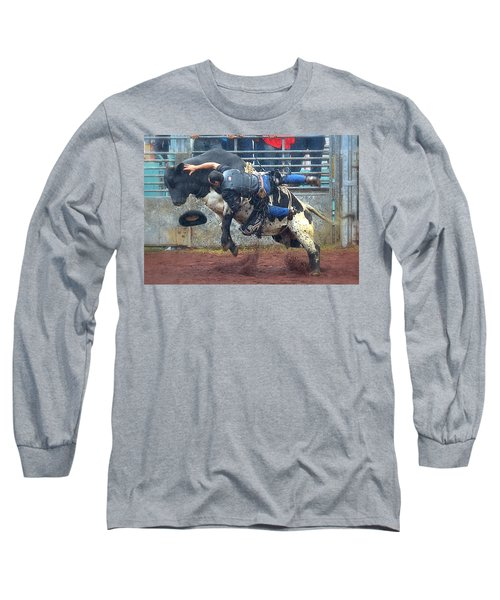 Long Sleeve T-Shirt featuring the photograph Taking The Fall by Lori Seaman