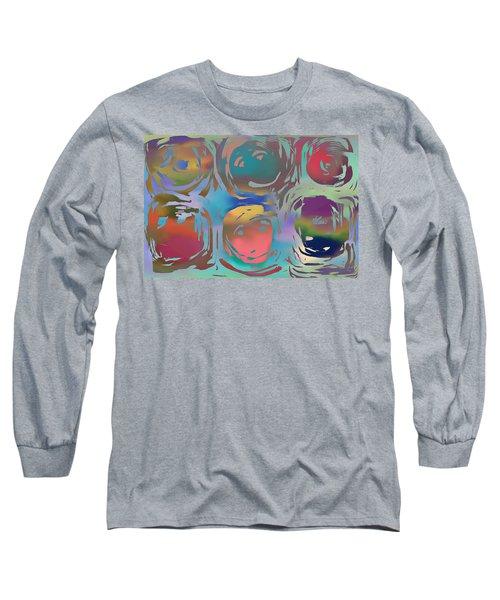Talking Heads  Long Sleeve T-Shirt by Danica Radman