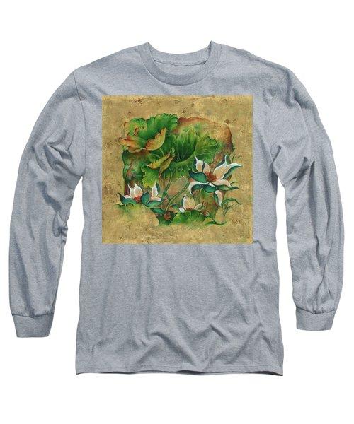 Talks About The Essence Of Life Long Sleeve T-Shirt by Anna Ewa Miarczynska