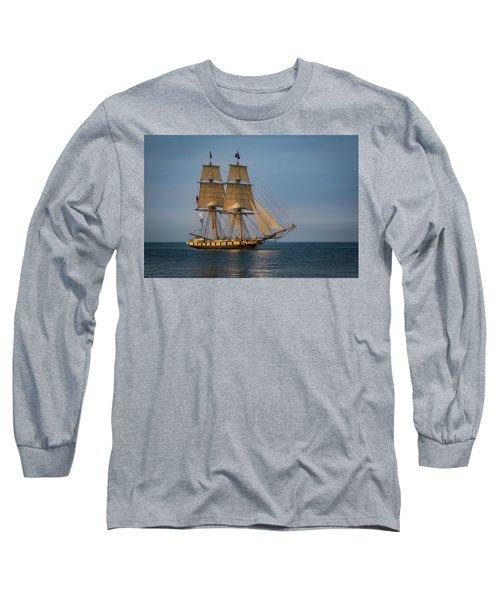 Tall Ship U.s. Brig Niagara Long Sleeve T-Shirt