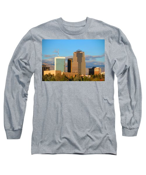 Tall Skinny Man With Hat Long Sleeve T-Shirt