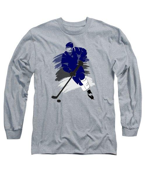 Tampa Bay Lightning Player Shirt Long Sleeve T-Shirt by Joe Hamilton