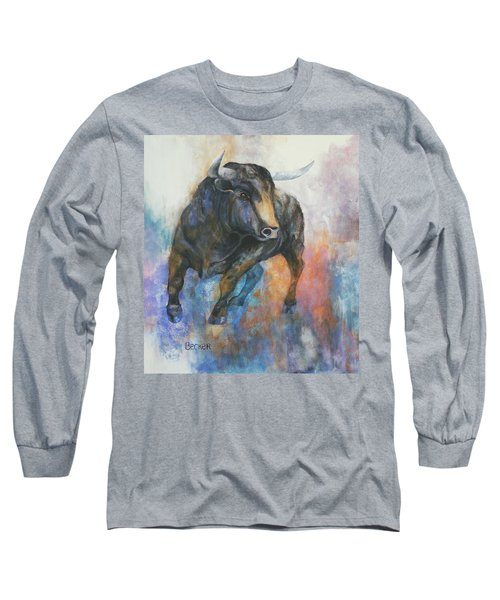 Tango On Wall Street Long Sleeve T-Shirt