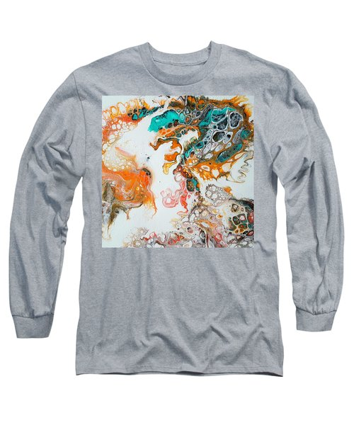 Tango With Turquoise Long Sleeve T-Shirt