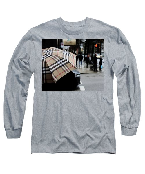 Tap Me On The Shoulder  Long Sleeve T-Shirt by Empty Wall