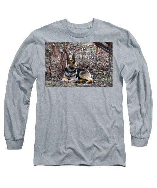 Long Sleeve T-Shirt featuring the photograph Tara by Julia Ivanovna Willhite