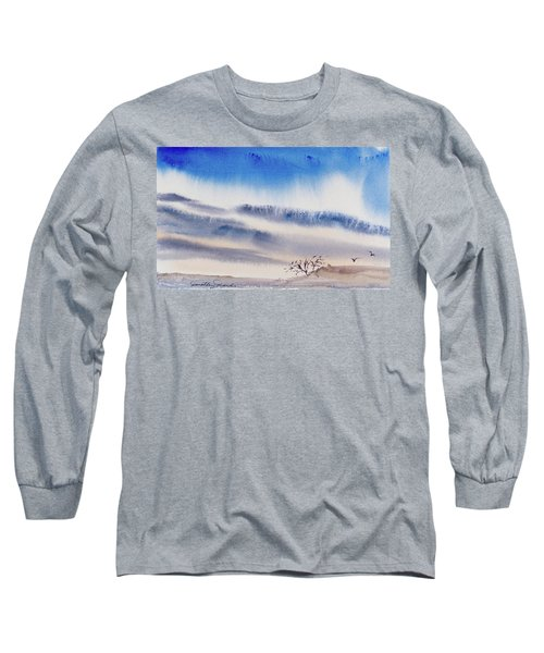 Tasmanian Skies Never Cease To Amaze And Delight. Long Sleeve T-Shirt