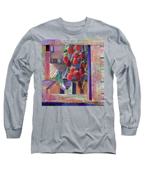 Taste Of Italy  Long Sleeve T-Shirt by Julianne Ososke