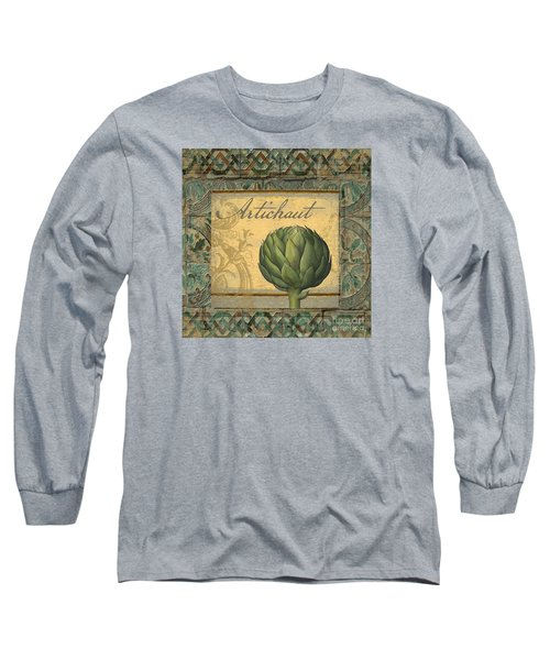 Tavolo, Italian Table, Artichoke Long Sleeve T-Shirt