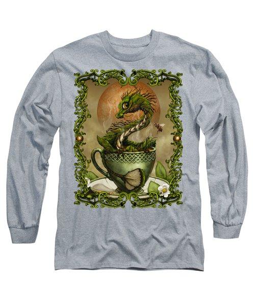 Tea Dragon T- Shirt Long Sleeve T-Shirt by Stanley Morrison