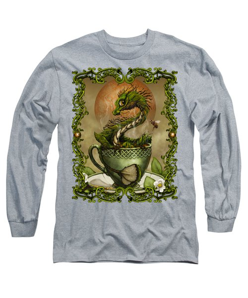 Tea Dragon T- Shirt Long Sleeve T-Shirt