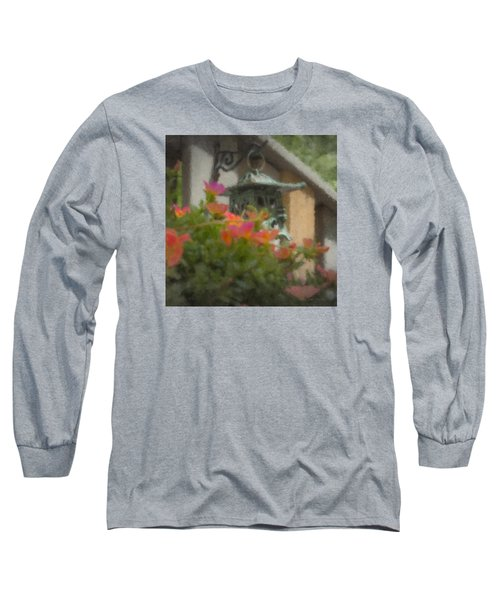 Tea Lantern And Portulaca Long Sleeve T-Shirt