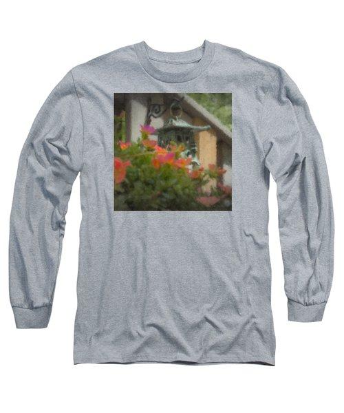 Tea Lantern And Portulaca Long Sleeve T-Shirt