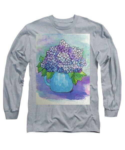 Teapot Hydranger Long Sleeve T-Shirt