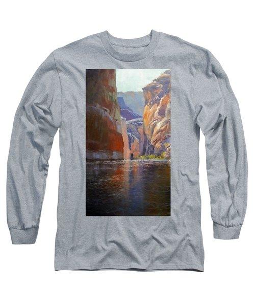 Teapot Point Colorado River Long Sleeve T-Shirt