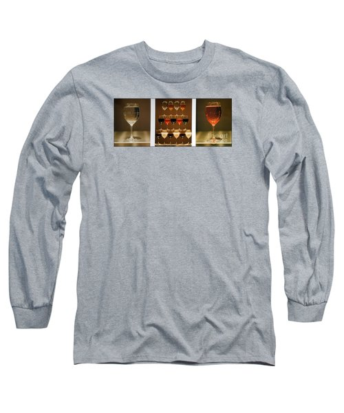 Tears And Wine Long Sleeve T-Shirt by James Lanigan Thompson MFA