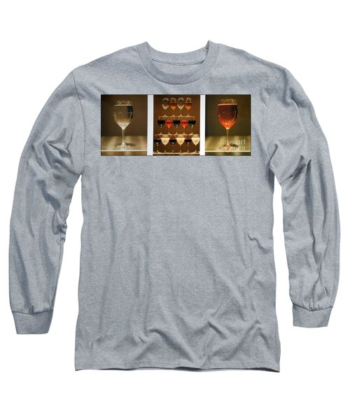 Tears And Wine Long Sleeve T-Shirt