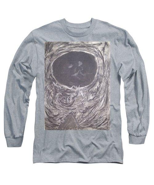 Teddy Bear Eye Detail Long Sleeve T-Shirt