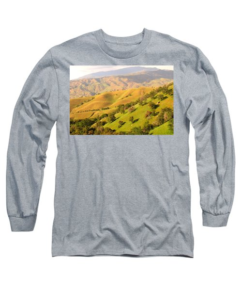 Tehachapi Topography Long Sleeve T-Shirt