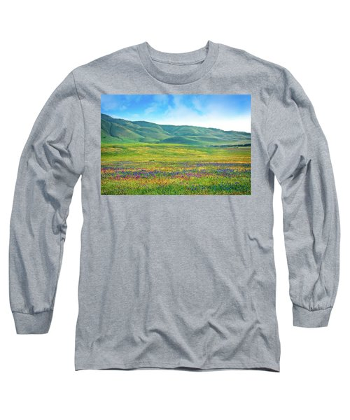 Tejon Ranch Wildflowers Long Sleeve T-Shirt