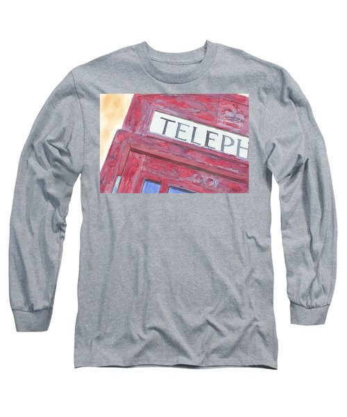 Telephone Booth Long Sleeve T-Shirt