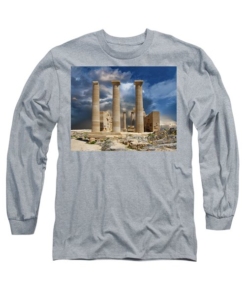 Temple Of Athena Long Sleeve T-Shirt