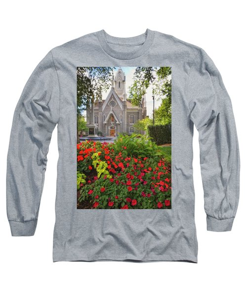 Temple Square Flowers Long Sleeve T-Shirt