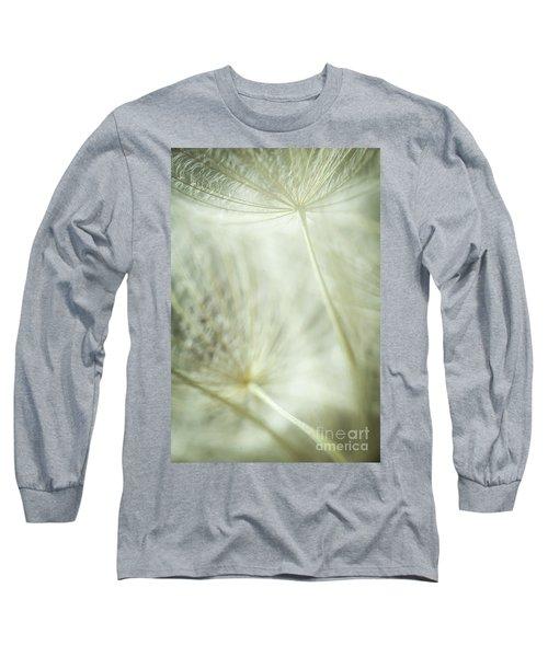 Tender Dandelion Long Sleeve T-Shirt by Iris Greenwell