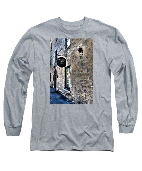 Mendon Town Hall Long Sleeve T-Shirt