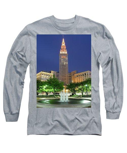 Terminal Tower Long Sleeve T-Shirt