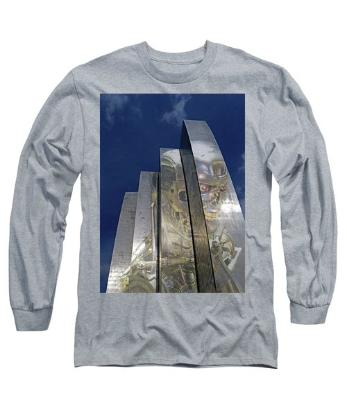 Long Sleeve T-Shirt featuring the photograph Termination by Christopher McKenzie